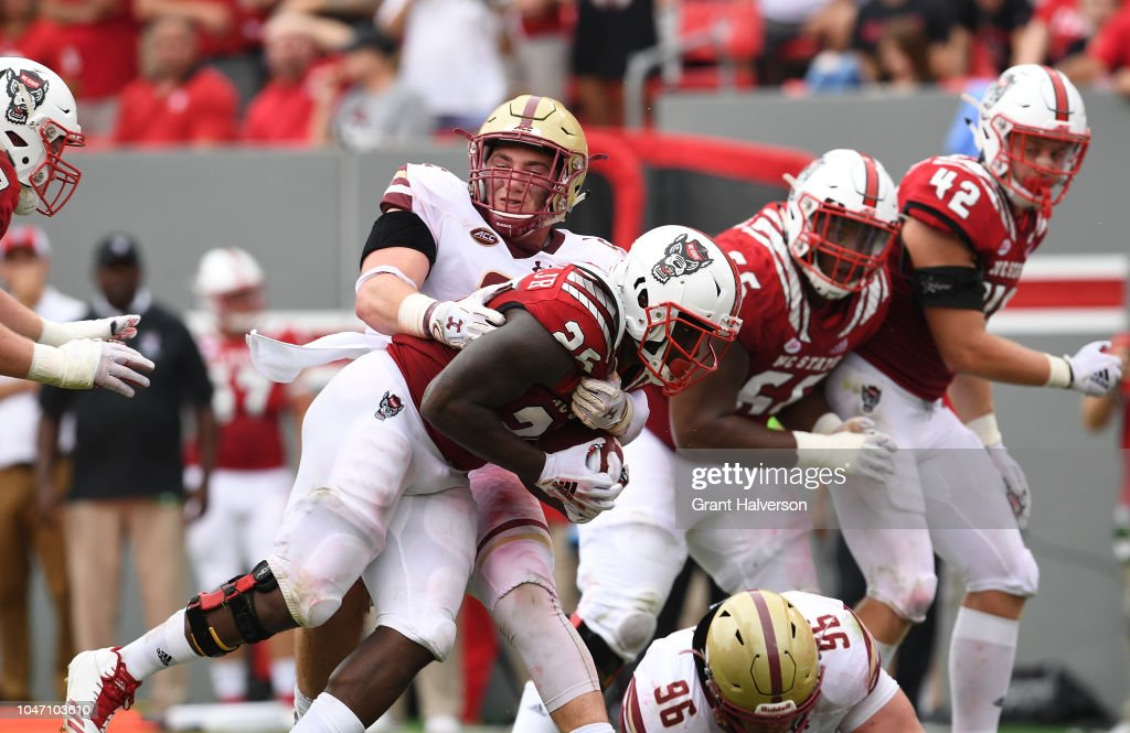 Boston College v North Carolina State : News Photo