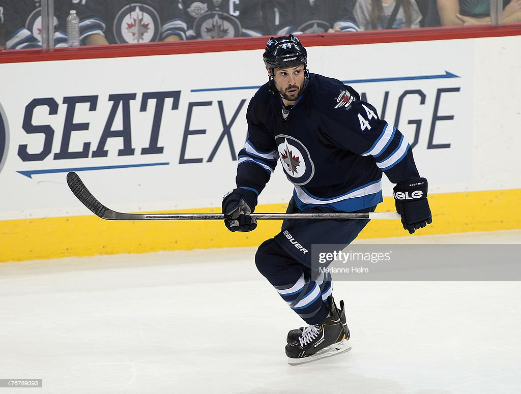 Phoenix Coyotes v Winnipeg Jets : News Photo