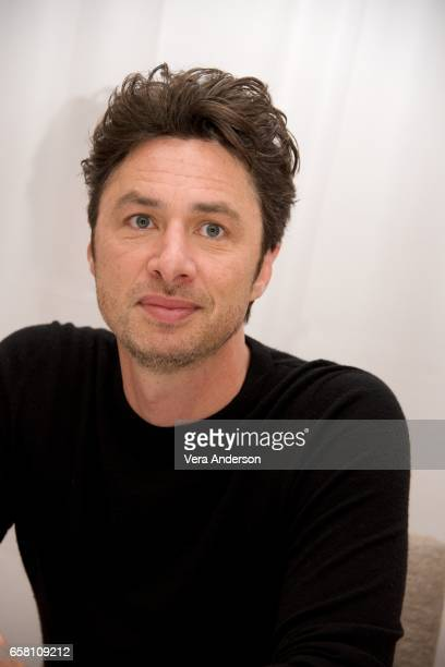"""Zach Braff at the """"Going in Style"""" Press Conference at the Whitby Hotel on March 25, 2017 in New York City."""