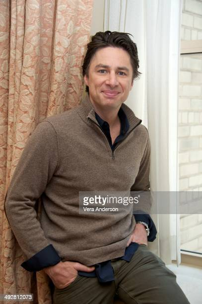 Zach Braff at the 'Wish I Was Here' Press Conference at the Waldorf Astoria Hotel on May 19 2014 in New York City