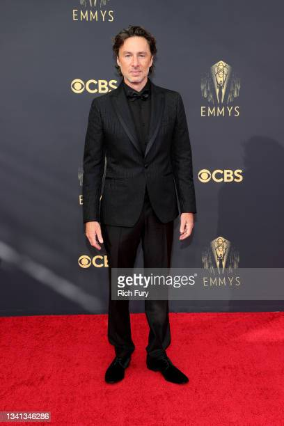 Zach Braff attends the 73rd Primetime Emmy Awards at L.A. LIVE on September 19, 2021 in Los Angeles, California.
