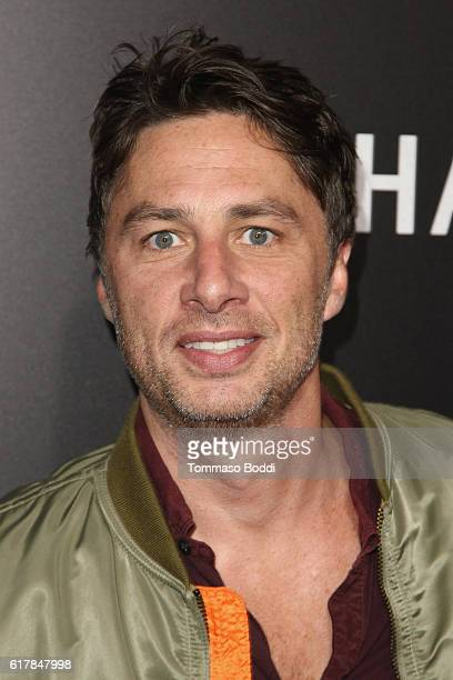 Zach Braff attends the screening of Summit Entertainment's 'Hacksaw Ridge' at Samuel Goldwyn Theater on October 24 2016 in Beverly Hills California