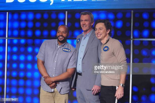 Zach Braff & Donald Faison vs. Neil Flynn and Wendi McLendon-Covey vs. Patrick Warburton Its an epic family reunion when the cast of Scrubs, led by...