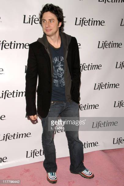 """Zach Braff during Lifetime Presents """"Why I Wore Lipstick to My Mastectomy"""" Los Angeles Screening at Social in Hollywood, California, United States."""