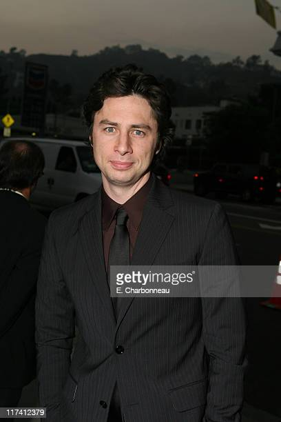 """Zach Braff during Los Angeles Premiere of DreamWorks """"The Last Kiss"""" at Director's Guild of America in Los Angeles, CA, United States."""