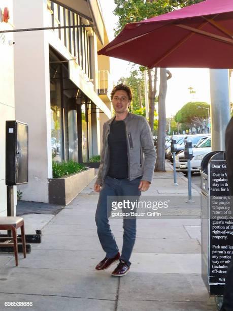 Zach Braff is seen on June 15 2017 in Los Angeles California