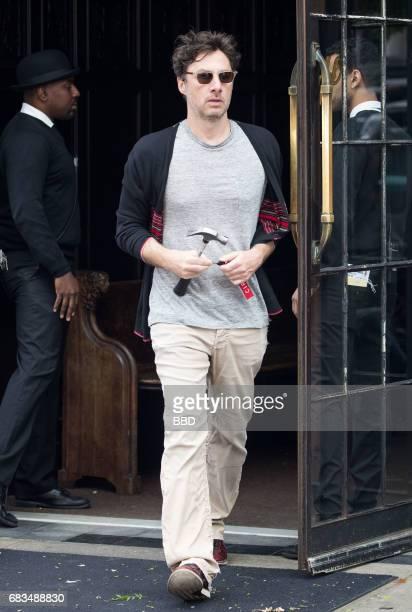 Zach Braff seen on May 15 2017 in New York City