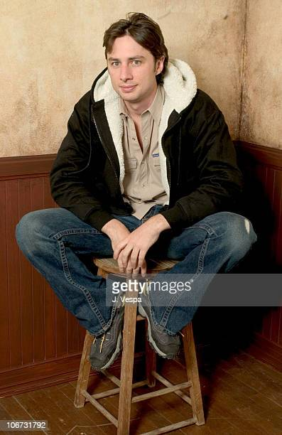 "Zach Braff, writer/director during 2004 Sundance Film Festival - ""Garden State"" Portraits at HP Portrait Studio in Park City, Utah, United States."