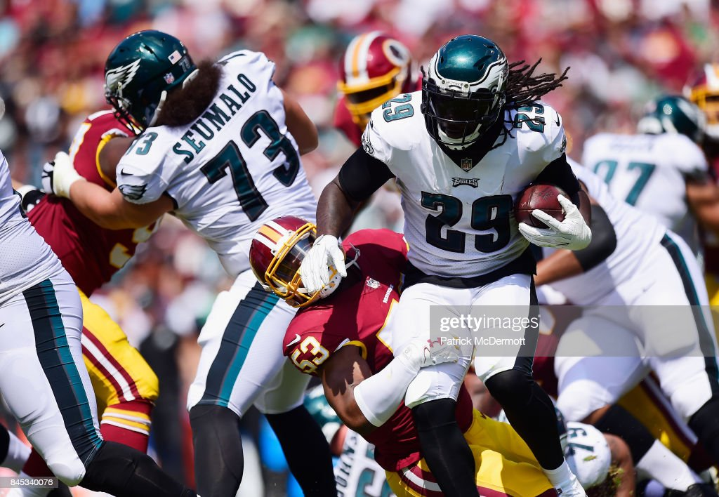Philadelphia Eagles v Washington Redskin : News Photo