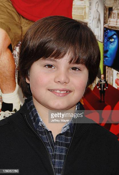 Zach Callison arrives at the Los Angeles Premiere of 'Gulliver's Travels' at Grauman's Chinese Theatre on December 18 2010 in Hollywood California