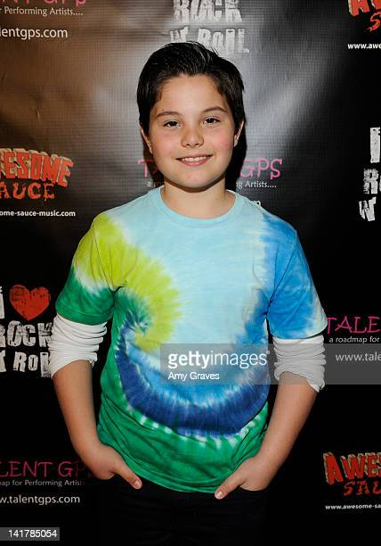Zach Callison attends the Shamrock and Roll Concert for St. Jude Children's Hospital on March 17, 2012 in Los Angeles, California.