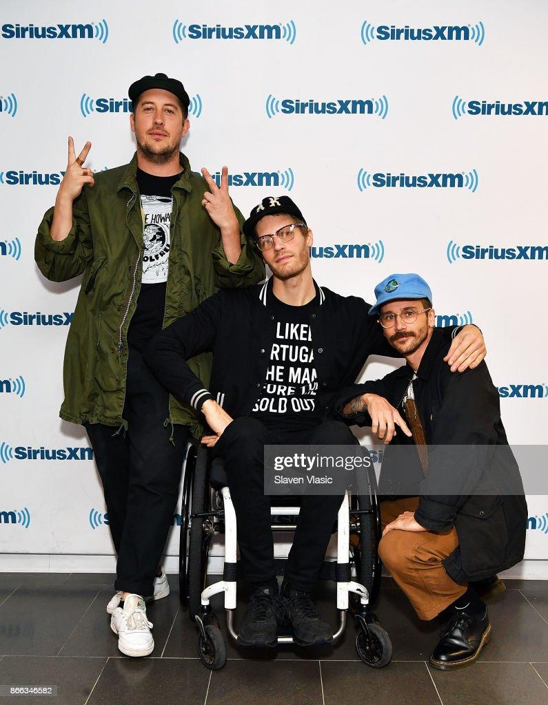 Celebrities Visit SiriusXM - October 25, 2017