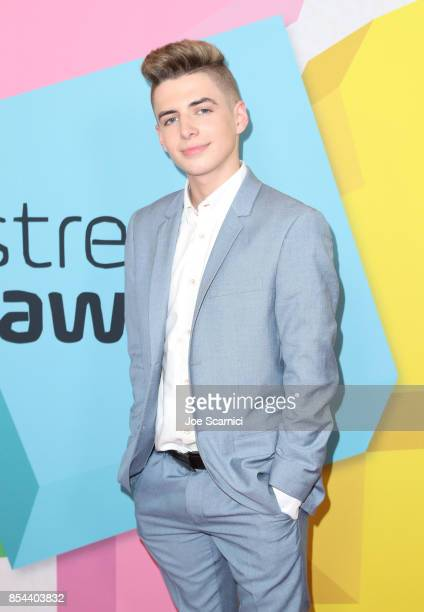 Zach Clayton at the 2017 Streamy Awards at The Beverly Hilton Hotel on September 26 2017 in Beverly Hills California