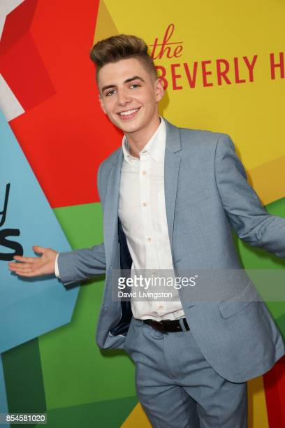 Zach Clayton attends the 7th Annual 2017 Streamy Awards at The Beverly Hilton Hotel on September 26 2017 in Beverly Hills California