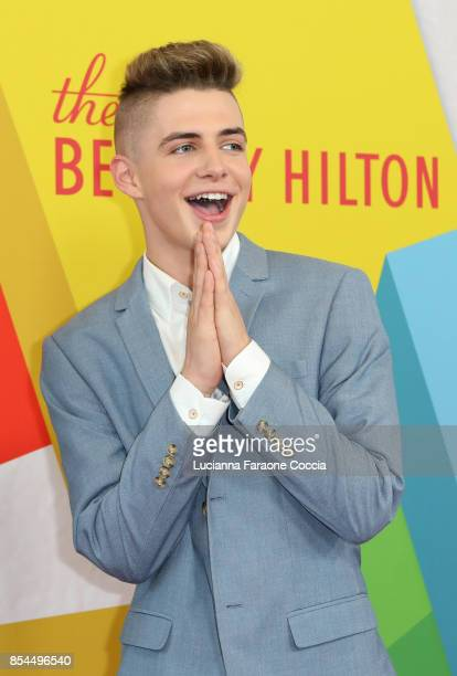 Zach Clayton attends the 7th Annual Streamy Awards at The Beverly Hilton Hotel on September 26 2017 in Beverly Hills California