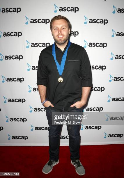 Zach Crowell attends the 35th Annual ASCAP Pop Music Awards at The Beverly Hilton Hotel on April 23 2018 in Beverly Hills California