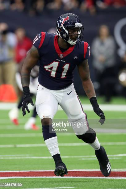 Zach Cunningham of the Houston Texans in action during the game against the Indianapolis Colts at NRG Stadium on December 9, 2018 in Houston, Texas....