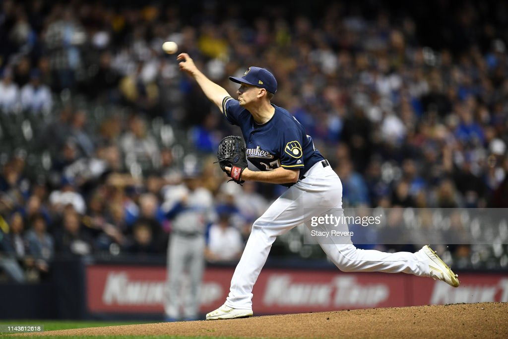 WI: Los Angeles Dodgers v Milwaukee Brewers