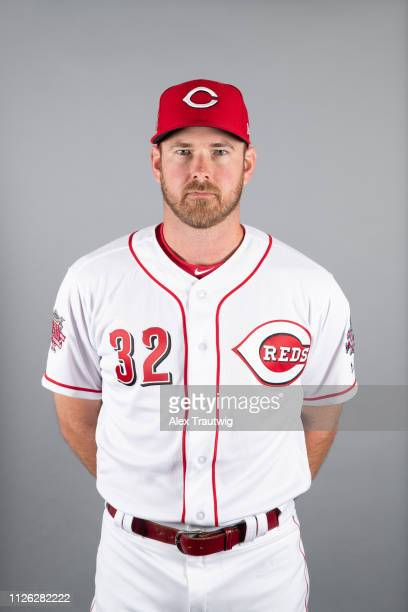 Zach Duke of the Cincinnati Reds poses during Photo Day on Tuesday February 19 2019 at Goodyear Ballpark in Goodyear Arizona