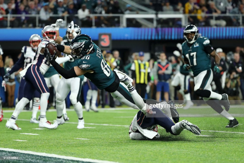 Super Bowl LII - Philadelphia Eagles v New England Patriots : News Photo