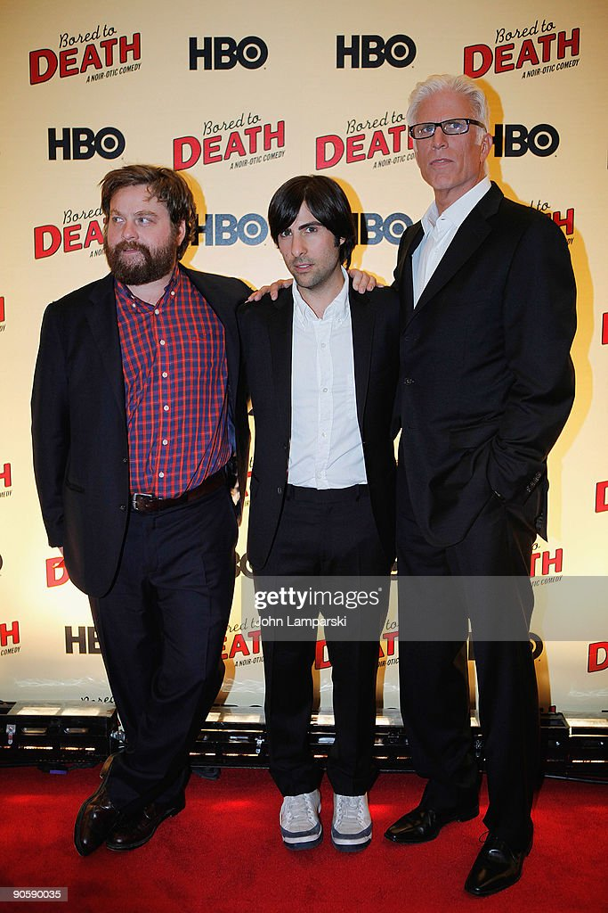 Zach Galifianakis And Jason Schwartzman And Ted Danson Attend The News Photo Getty Images