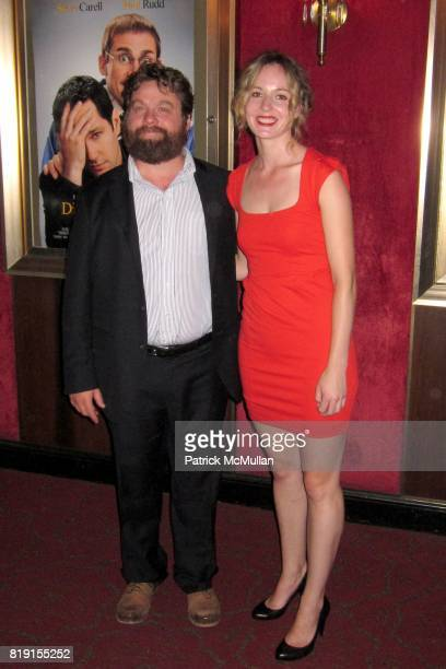 Zach Galifianakis And Quinn Lundberg Attend New York Premiere Of Dinner For S At
