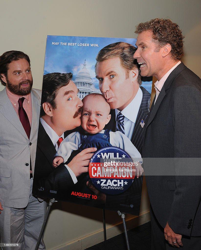 """""""The Campaign"""" New York Premiere - Inside Arrivals : Nachrichtenfoto"""