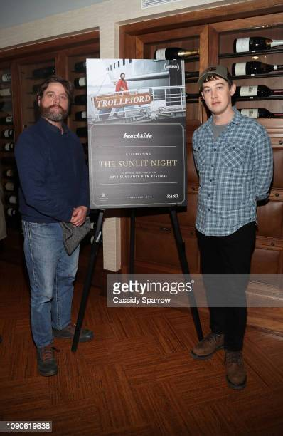 Zach Galifianakis andvAlex Sharp attend Beachside Film's Private Dinner For The Sunlit Night Hosted By The RAND Luxury Escape at St Regis Deer Crest...