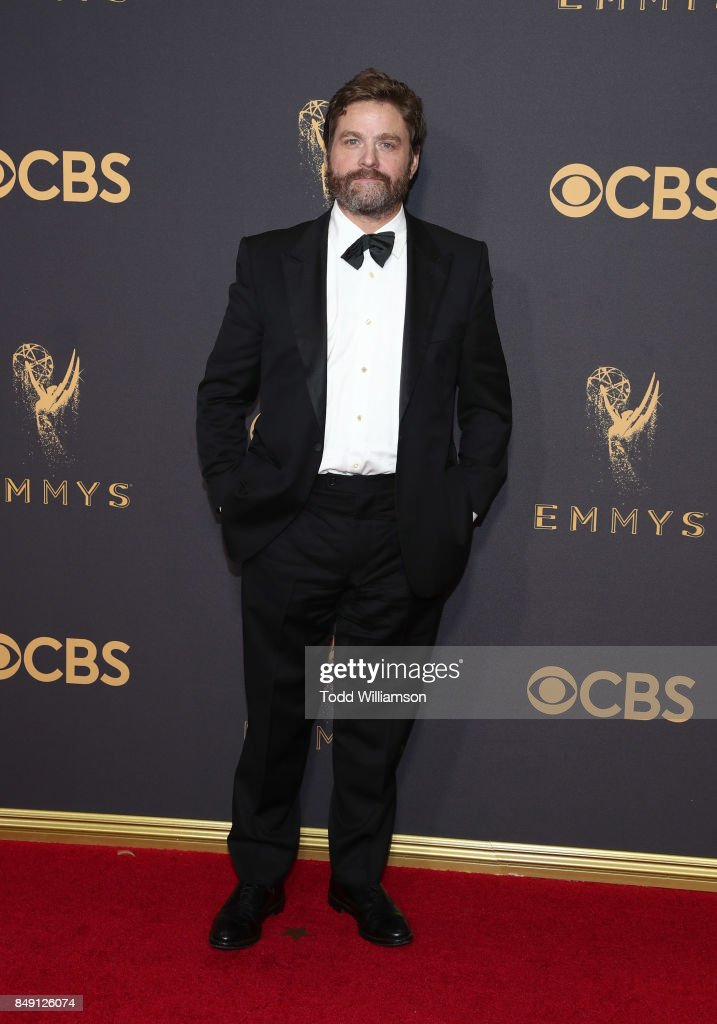 Zach Galifianakis attends the 69th Annual Primetime Emmy Awards at Microsoft Theater on September 17, 2017 in Los Angeles, California.