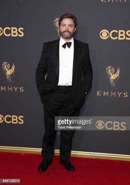Zach Galifianakis attends the 69th Annual Primetime Emmy Awards at Microsoft Theater on September 17 2017 in Los Angeles California