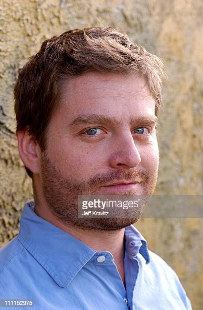 Zach Galifianakis during Portraits of Zach Galifianakis from the new VH1 late night talk show in Santa Monica California United States