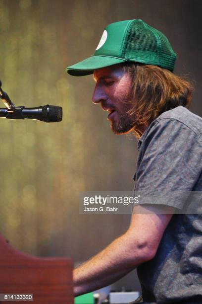 Zach Gill performs at Fiddler's Green Amphitheatre on July 13 2017 in Englewood Colorado