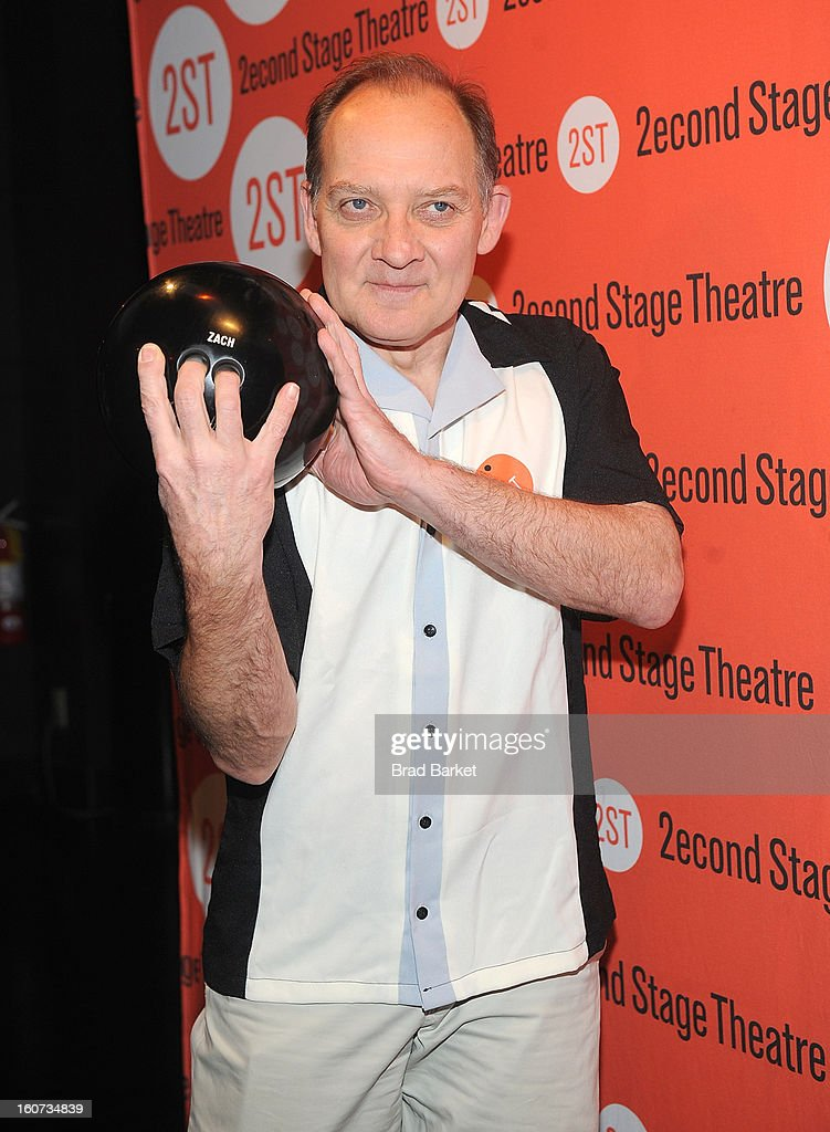 Zach Grenier attends the Second Stage Theatre's 26th Annual All-Star Bowling Classic at Lucky Strike on February 04, 2013 in New York City.