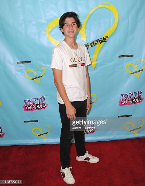 Zach Hennessey attends the Release Party For Dani Cohn And Mikey Tua's Song Somebody Like You held at The Industry Loft on June 8 2019 in Los Angeles...