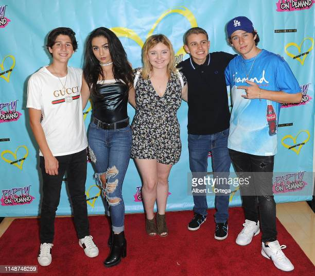 Zach Hennessey Neven Crisorio Maegan Cohen Ethan Klein and JJ Hennessey attend the Release Party For Dani Cohn And Mikey Tua's Song Somebody Like You...