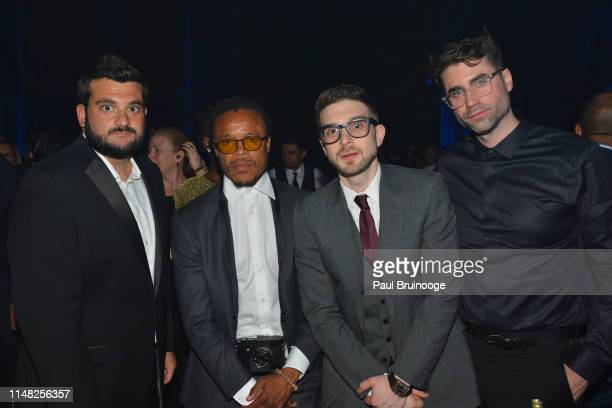 Zach Iser Edgar Davis Alex Soros and Kevin Nee attend The Gordon Parks Foundation Awards Dinner and Auction at Cipriani 42nd Street NYC on June 4...