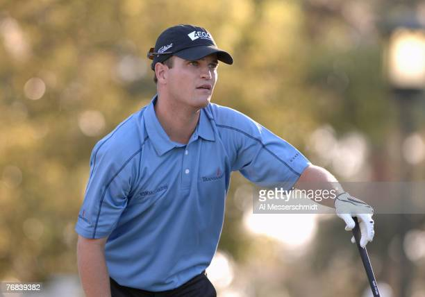 Zach Johnson on the first tee during the Progress Energy Partner Pro-Am at the 2006 Chrysler Championship held at the Westin Innisbrook Golf Resort...