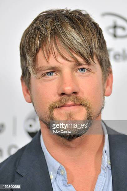 Zach Knighton arrives for the Disney ABC 2013 WInter TCA Tour event at The Langham Huntington Hotel and Spa on January 10 2013 in Pasadena California