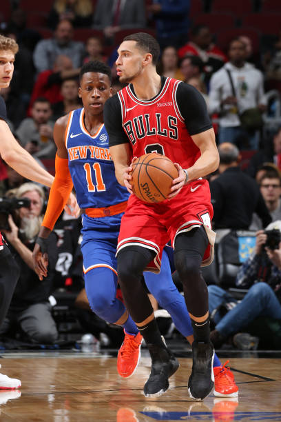 IL: New York Knicks v Chicago Bulls