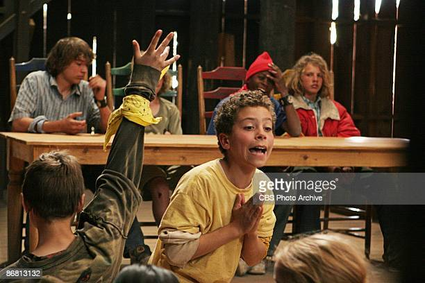 Zach makes a plea to the rest of the Pioneers during the Town Council meeting on the season finale of KID NATION Wednesday Dec 12 on the CBS...