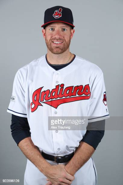 Zach McAllister of the Cleveland Indians poses during Photo Day on Wednesday February 21 2018 at Goodyear Ballpark in Goodyear Arizona