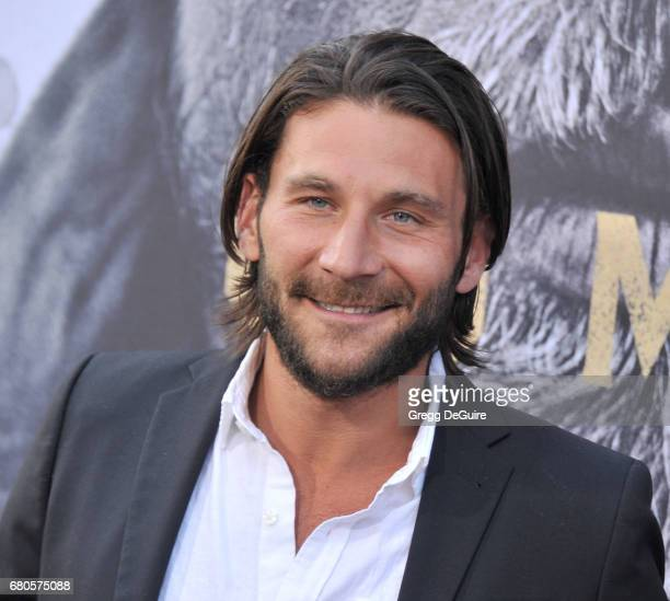 Zach McGowan arrives at the premiere of Warner Bros Pictures' 'King Arthur Legend Of The Sword' at TCL Chinese Theatre on May 8 2017 in Hollywood...