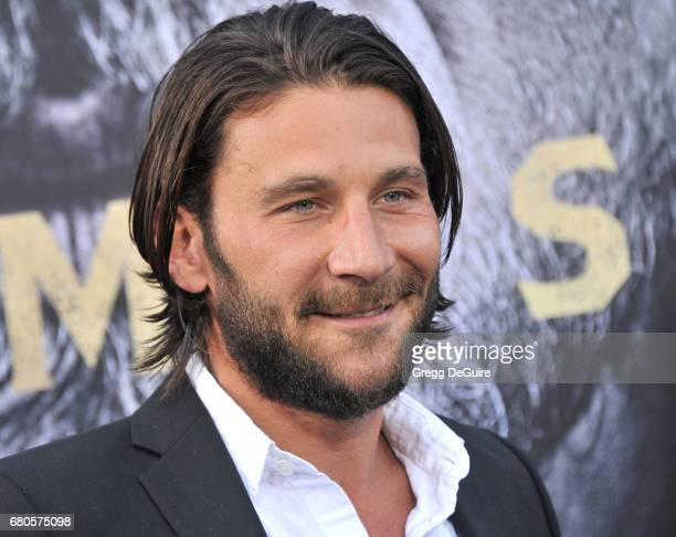 Zach McGowan arrives at the premiere of Warner Bros Pictures' King Arthur Legend Of The Sword at TCL Chinese Theatre on May 8 2017 in Hollywood...