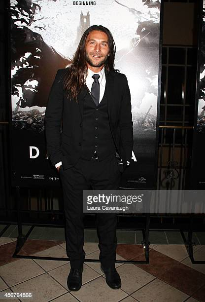 Zach McGowan attends Dracula Untold New York Premiere at AMC Loews 34th Street 14 theater on October 6 2014 in New York City