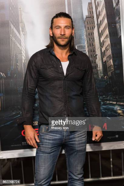 Zach McGowan attends Premiere Of Warner Bros Pictures' Geostorm Arrivals at TCL Chinese Theatre on October 16 2017 in Hollywood California