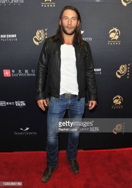 Zach McGowan attends the 14th annual Chinese American Film Festival CATF Golden Age Award Ceremony at The WGA Theater on October 29 2018 in Beverly...