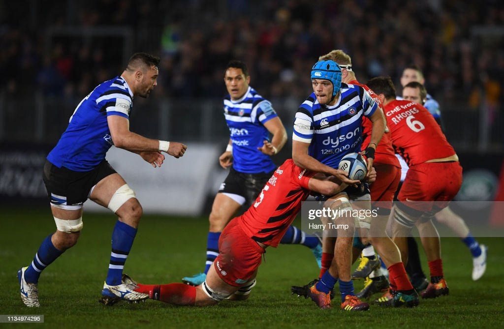 Bath Rugby v Saracens - Gallagher Premiership Rugby : News Photo