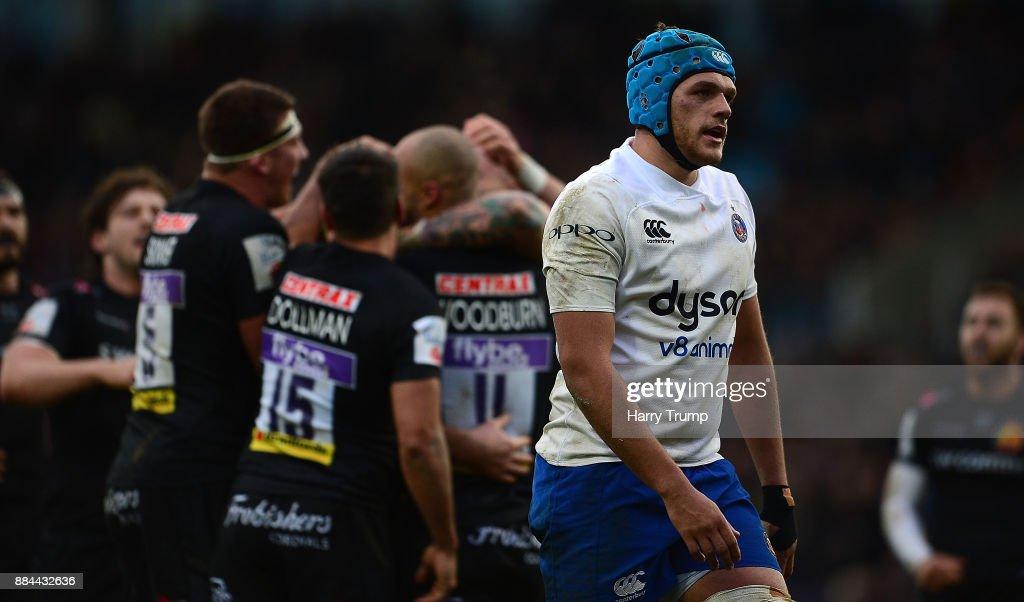 Exeter Chiefs v Bath Rugby - Aviva Premiership : News Photo