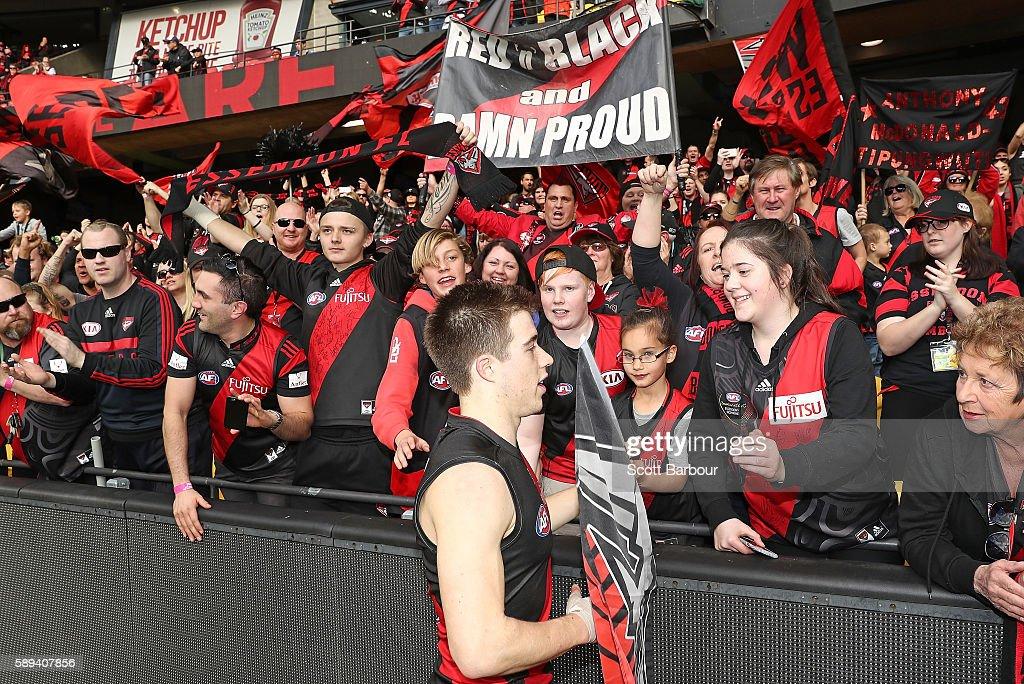 AFL Rd 21 - Essendon v Gold Coast : News Photo