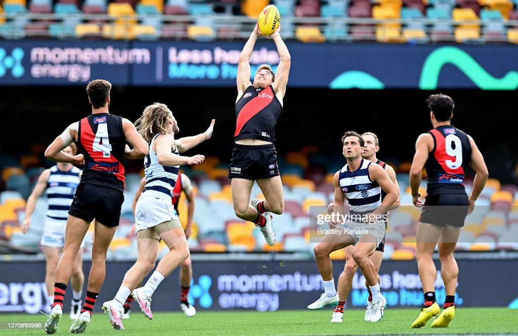 AFL Rd 16 - Geelong v Essendon : News Photo